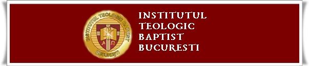 Institutul Teologic Baptist Bucuresti admitere