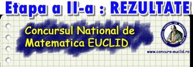 Euclid etapa a II-a rezultate