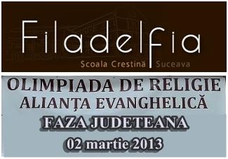 filadelfia-olimpiada de religie faza judeteana Suceava