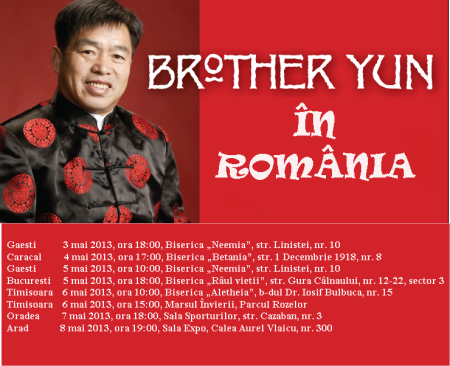 Brother-Yun-in Romania  2013