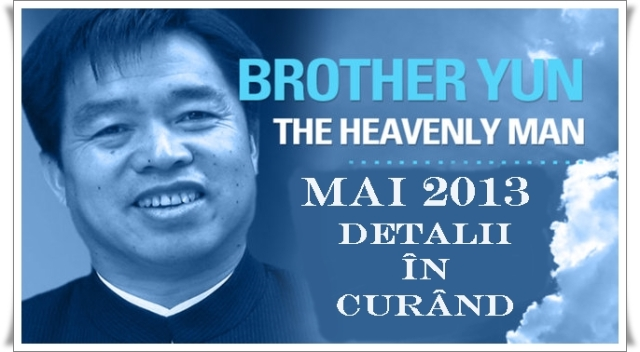 Brother Yun in Romania