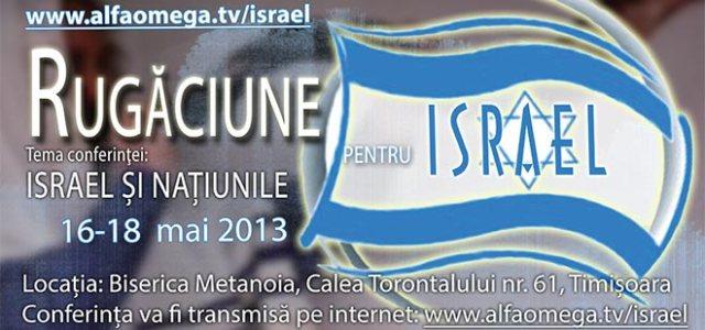 Rugaciune pentru Israel