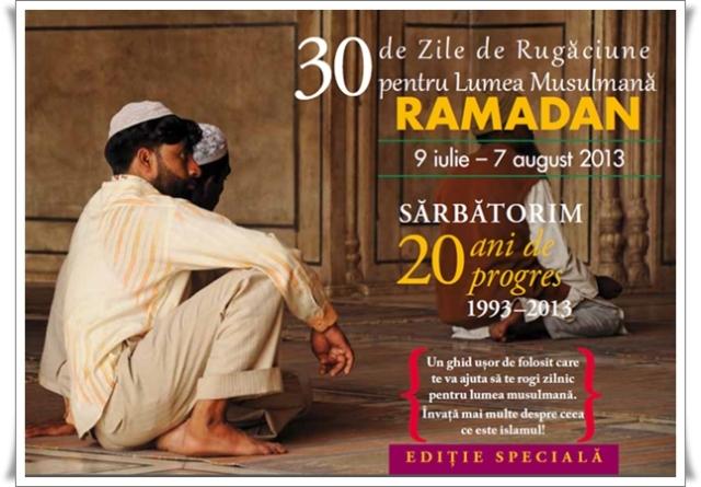 30 de zile de rugaciune pentru lumea musulmana