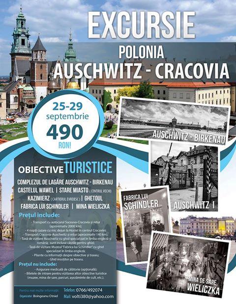 Excursie Auschwitz - Cracovia