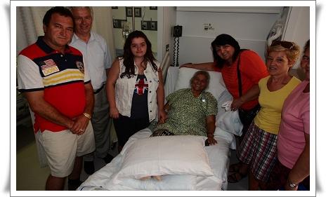 Silvia Tarniceru in spital
