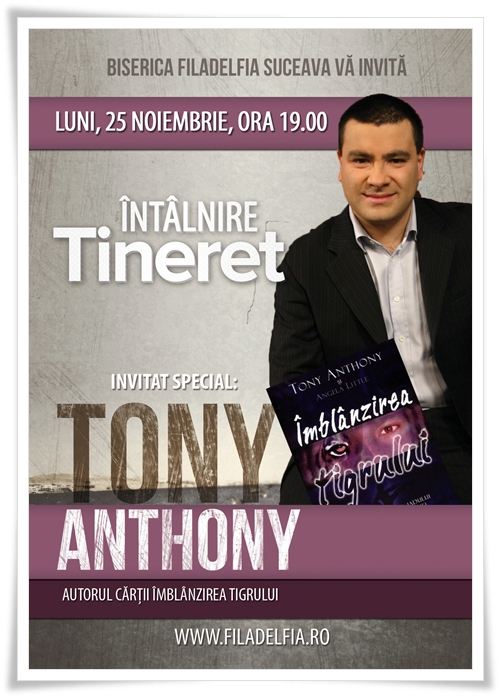 Tony Anthony la Suceava