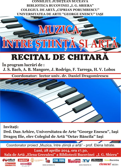 recital de chitara Suceava