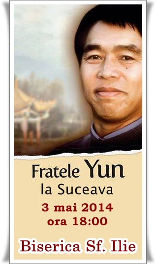 Brother YUN la Suceava