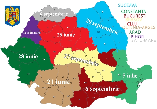 harta romania delimitarea judetelor