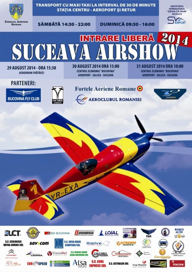 Air show Suceava 2014