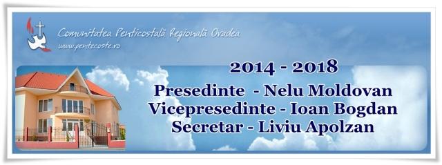 Conducerea comunitatii regionale penticostale Oradea