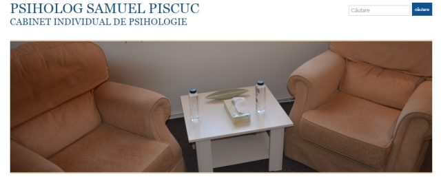 Psiholog Samuel Piscuc