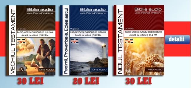 biblia audio Petrica Vrabioru