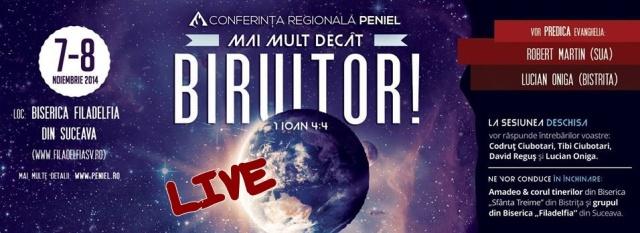 Conferinta Peniel Suceava - LIVE