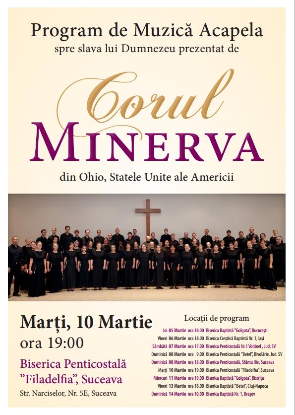 Corul Minerva la Suceava