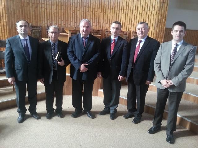 noua conducere a Comunitatii Crestine Baptiste Suceava
