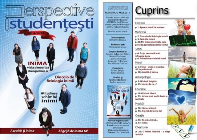 Perspective studentesti
