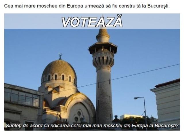 Moschee in Bucuresti