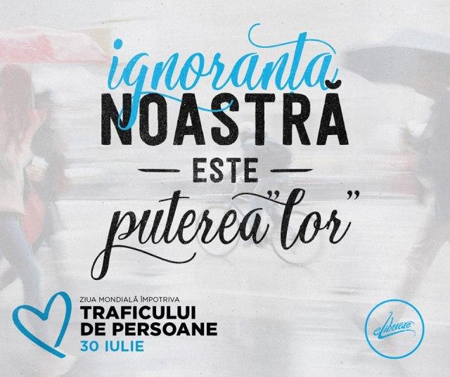 Ziua Mondiala Impotriva Traficului de Persoane