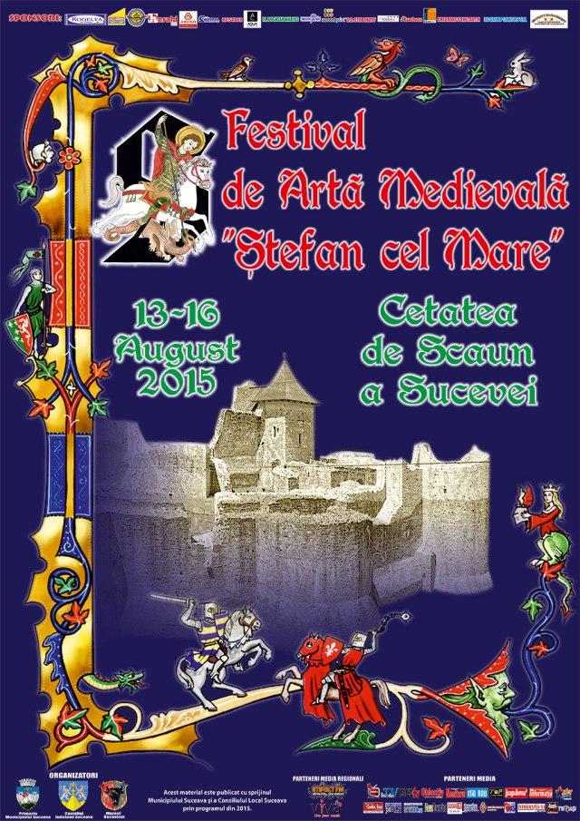 Festival de arta medievala Suceava 2015