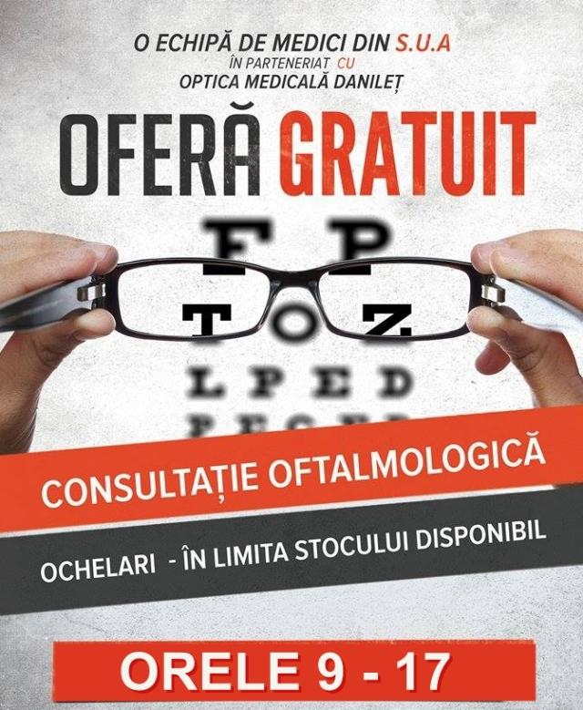consultatie oftalmologica Suceava