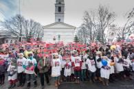 protest familia Bodnariu Suceava 3