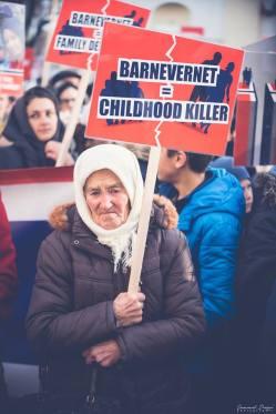 Protest pentru familia Bodnariu Suceava 50