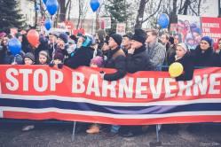 Protest pentru familia Bodnariu Suceava 9