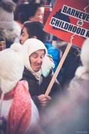 Protest pentru familia Bodnariu Suceava48