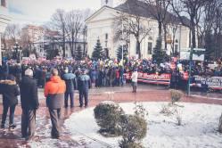 Protest pentru familia Bodnariu Suceava7
