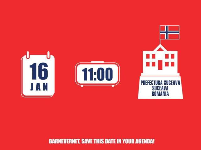 Protest Suceava 16 ianuarie