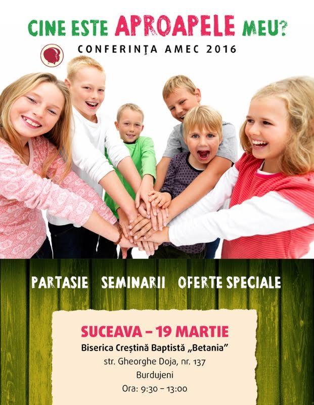 Conferinta AMEC Suceava
