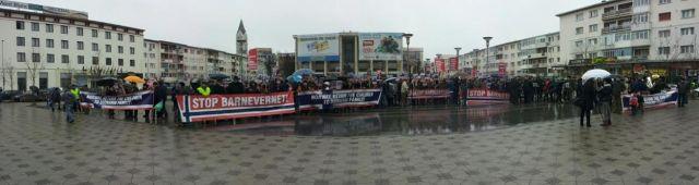 protest Bacau