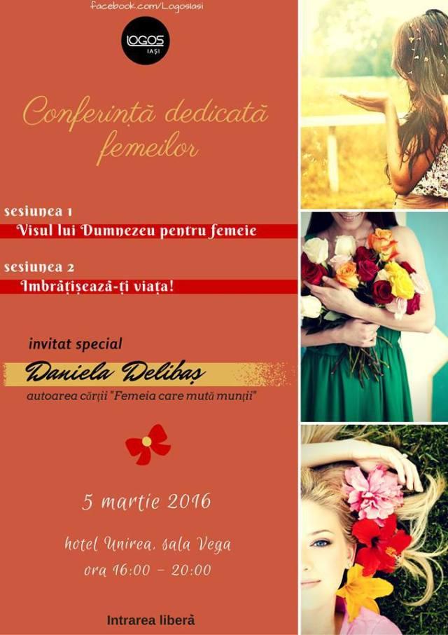 conferinta Daniela Delibas