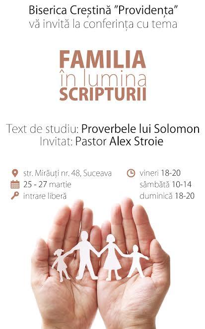 Familia in lumina Scripturii Alex Stroie