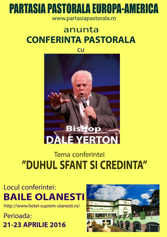Dale Yerton in Romania