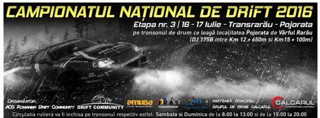 Campionat national drift Rarau