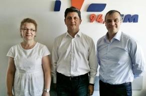 Margareta Lupascu, Titus Corlatean, Daniel Grigoriciuc