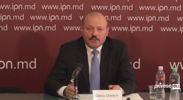 Valeriu Ghiletchi candideaza la presedintie