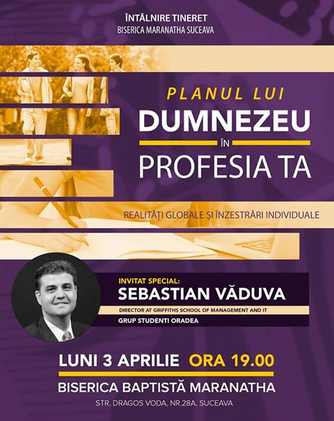 Sebastian Vaduva la Suceava