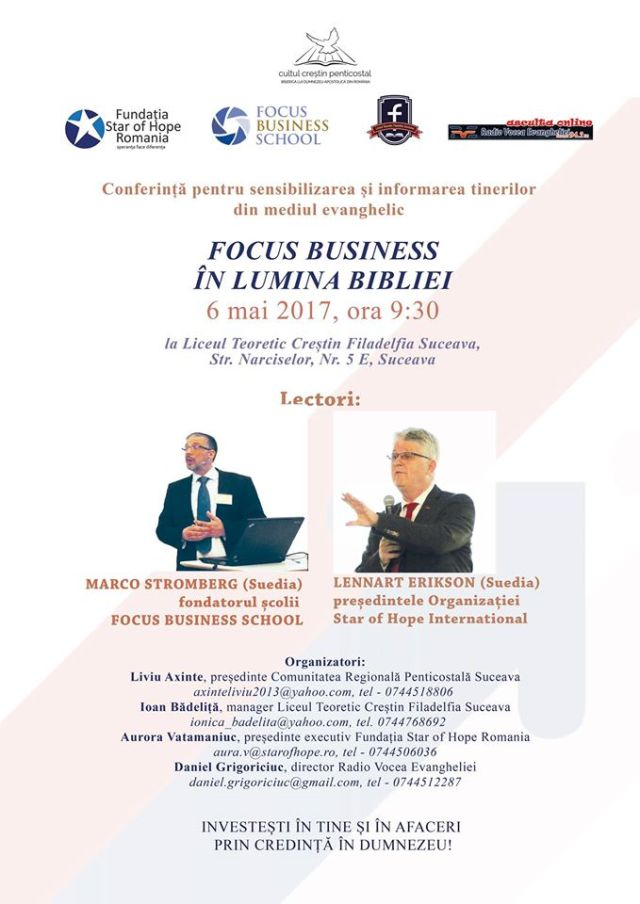 Focus Business School la Suceava