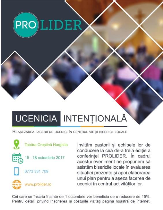 conferinta ProLider