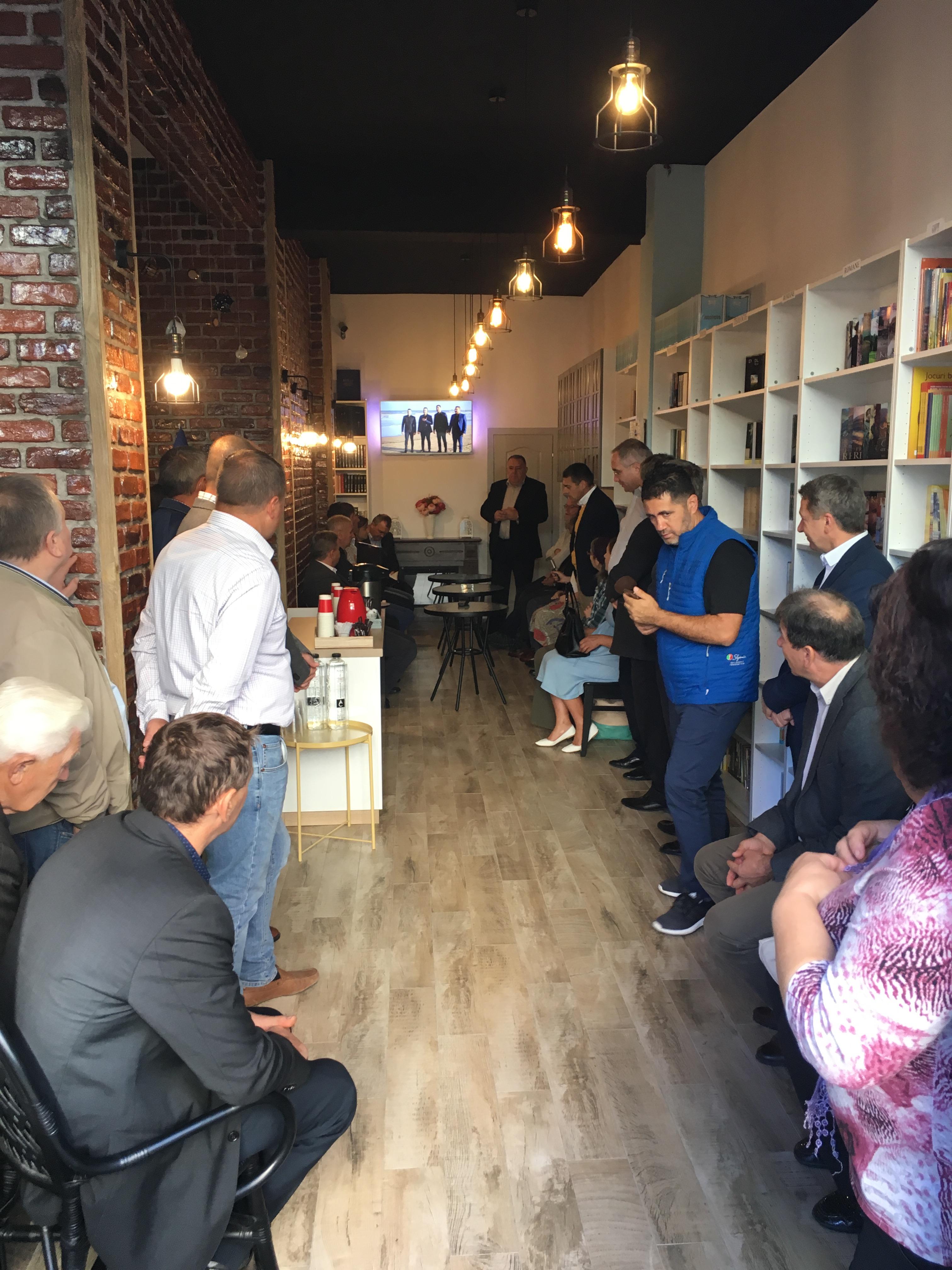 S-a deschis Coffee BookShop Logos la Suceava — Suceava Evanghelica
