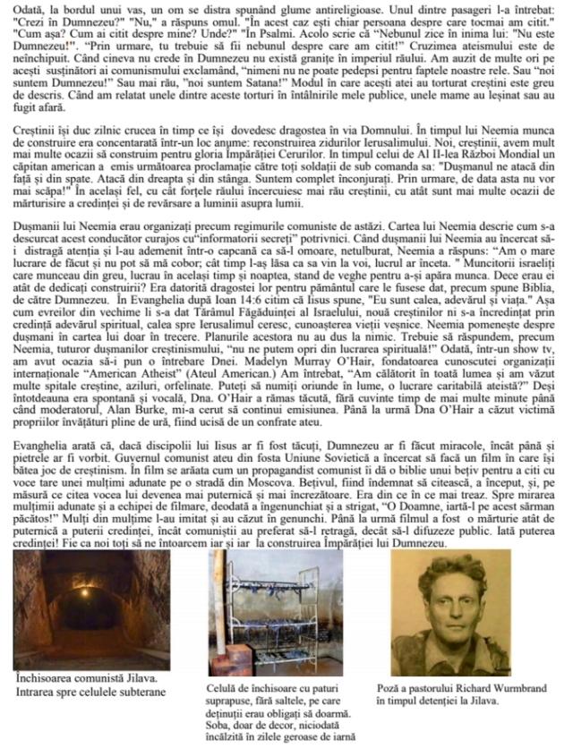 Richard Wurmbrand articol