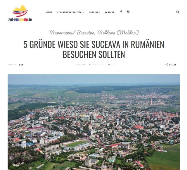 5 motive de a vizita Suceava