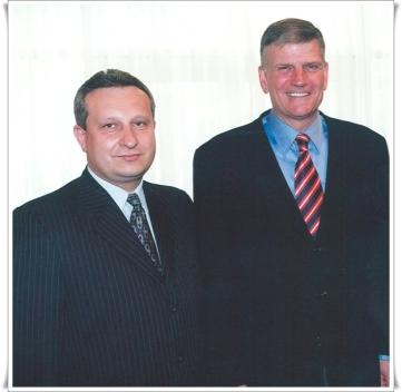 Ionel Tutac si Franklin Graham
