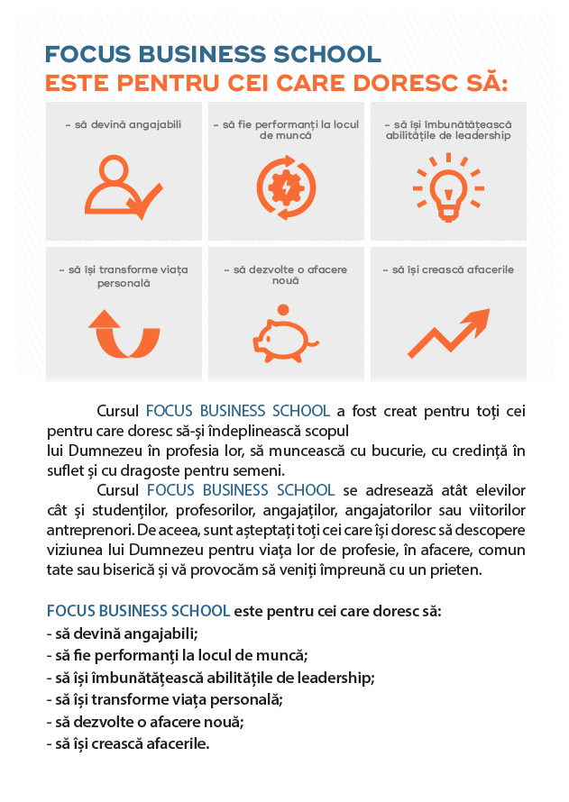Focus Business School Suceava
