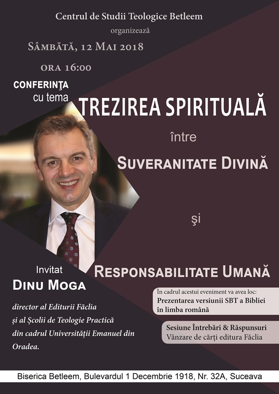 conferinta Trezirea Spirituala fara sageata