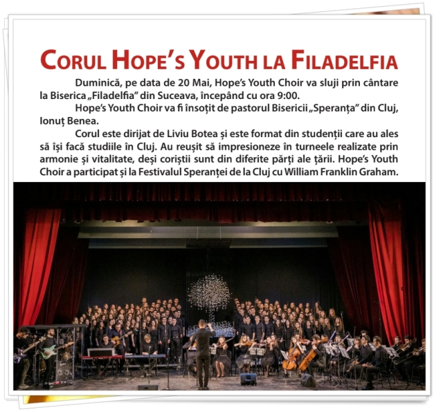 Hope`s Youth Choir