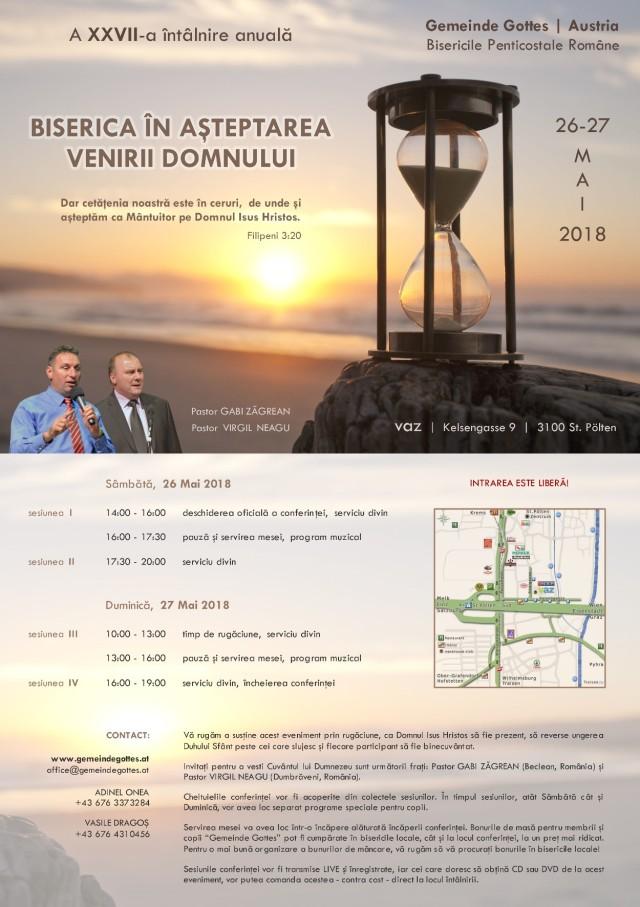 Intalnirea anuala a bisericilor din Austria 2018